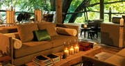 Lounge at &Beyond Lake Manyara Tree Lodge