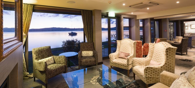 Lakefront Lounge Bar at Millennium Hotel & Resort Manuels Taupo