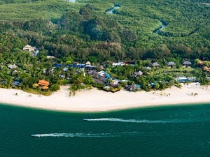 Aerial view of Four Seasons Resort Langkawi