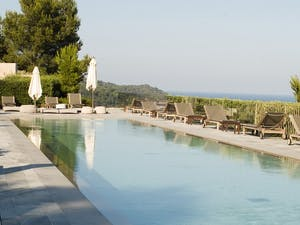 Swimming Pool at La Reserve de Ramatuelle, Riviera, France