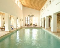 Indoor pool at Belmond La Residencia, Mallorca