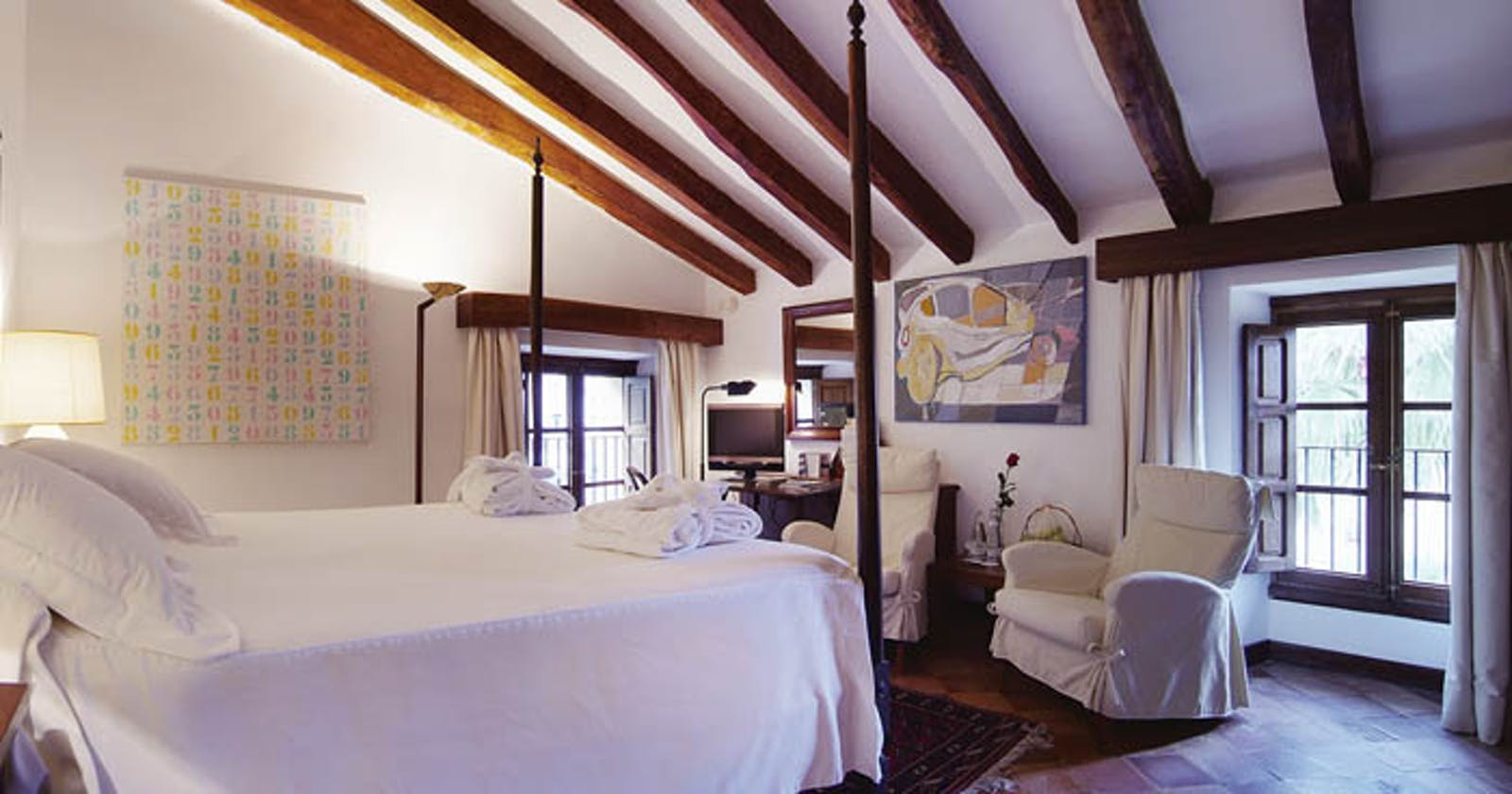 Bedroom at La Residencia, A Belmond Hotel, Mallorca