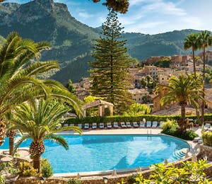 Pool at Belmond La Residencia, Mallorca
