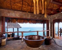 Overwater Villa Bathroom at Laucala Island, Fiji