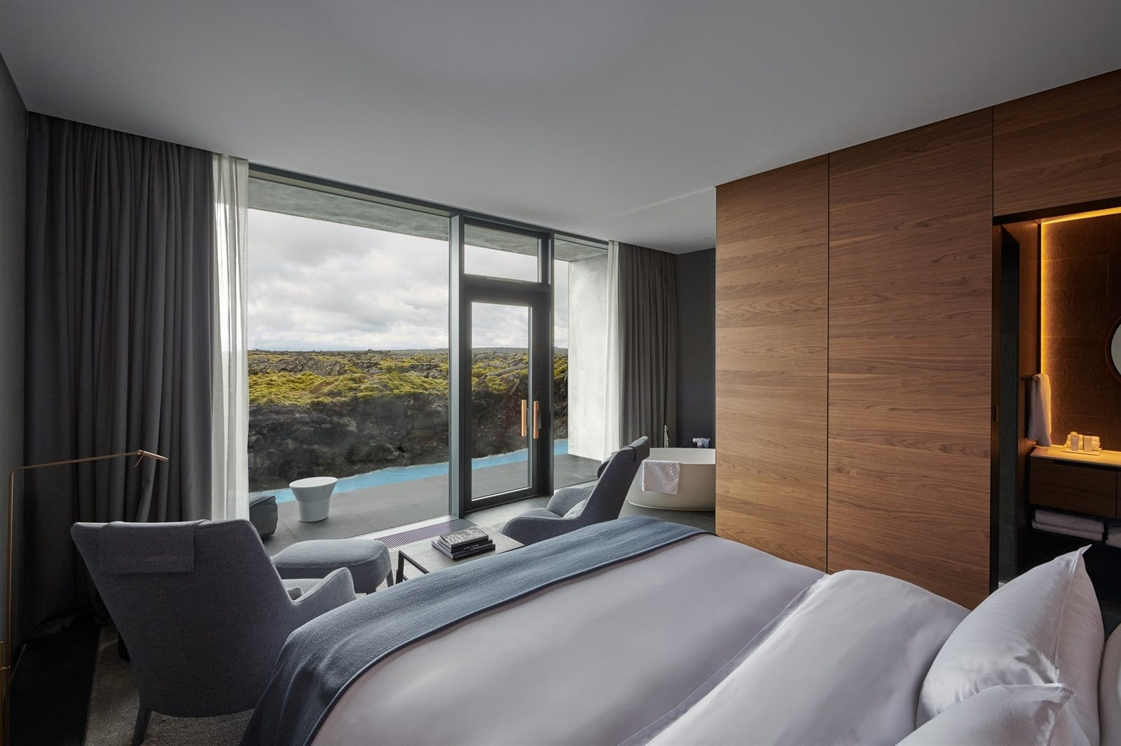 Lava View Junior Suite, Retreat Hotel, Iceland