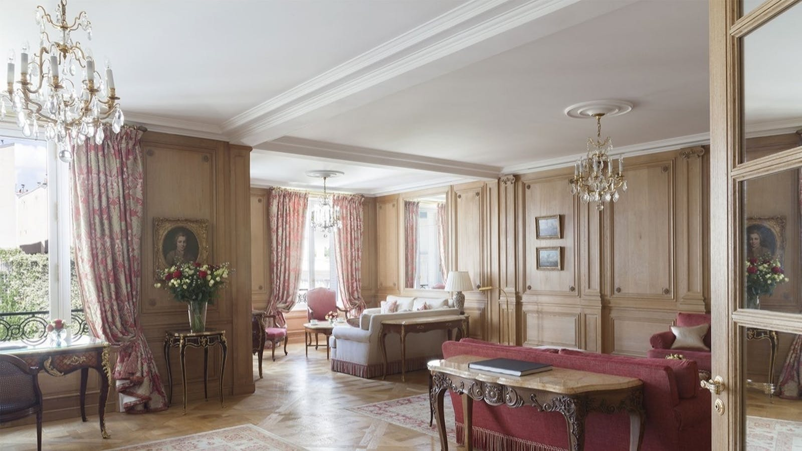 Royal Suite at Le Bristol, Paris, France