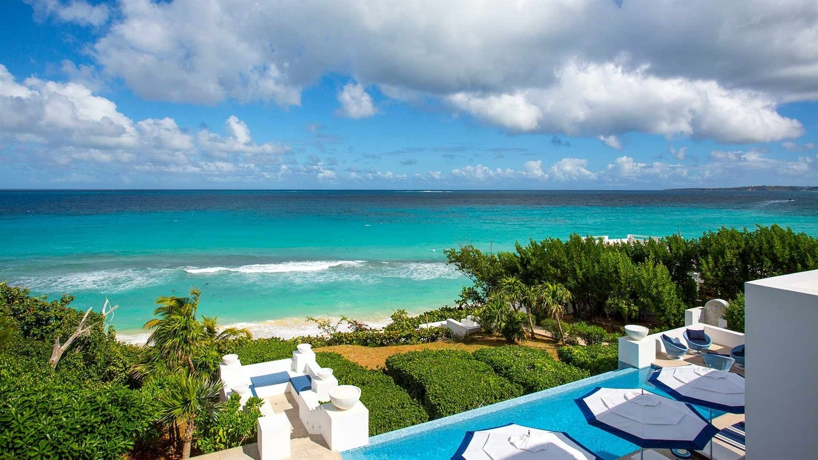 ocean views from sand villa long bay villas anguilla
