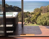 deluxe spa villa, Sea Dragon Lodge, Kangaroo Island