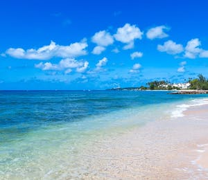 Beach at Leamington Pavillion, Barbados