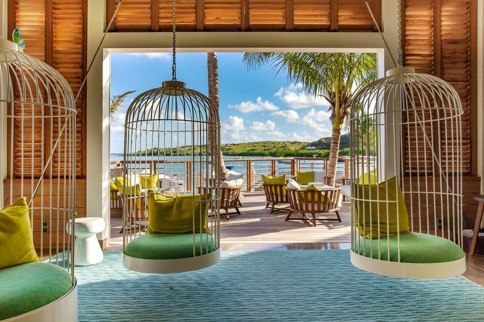 Welcome Pavilion at Le Barthelemy Hotel Spa