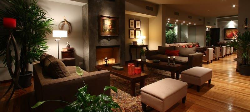Lounge area at Legado Mitico