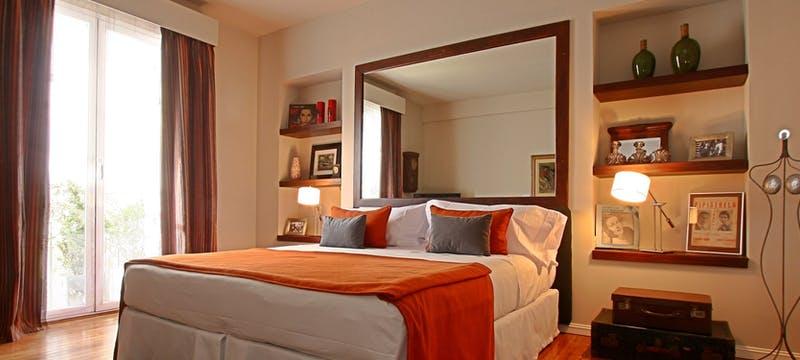 La Arrabalera bedroom at Legado Mitico