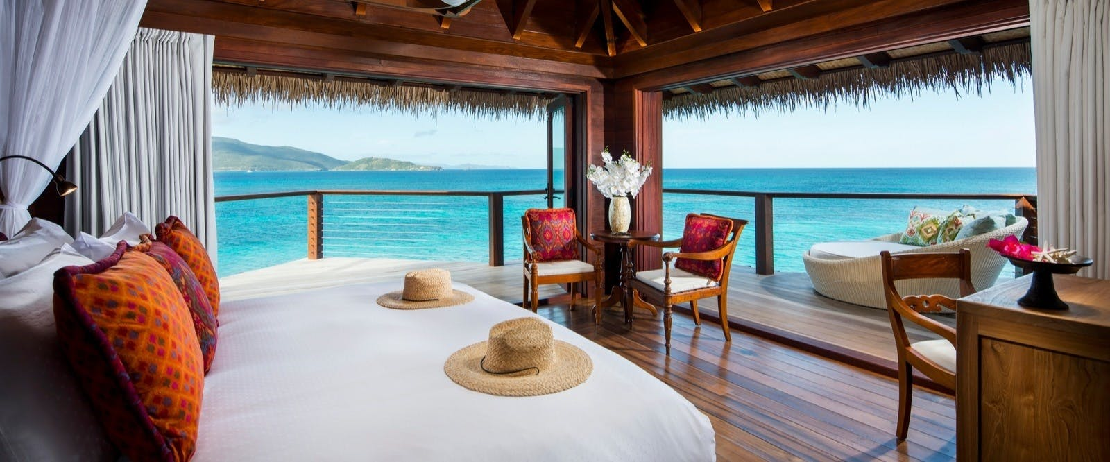 Leha Lo at Necker Island, British Virgin Islands