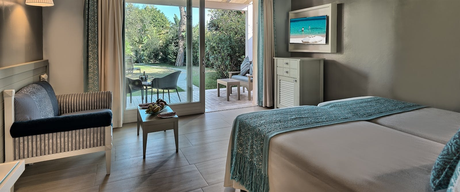 Deluxe Bungalow at Forte Village Le Palme, South Sardinia, Italy