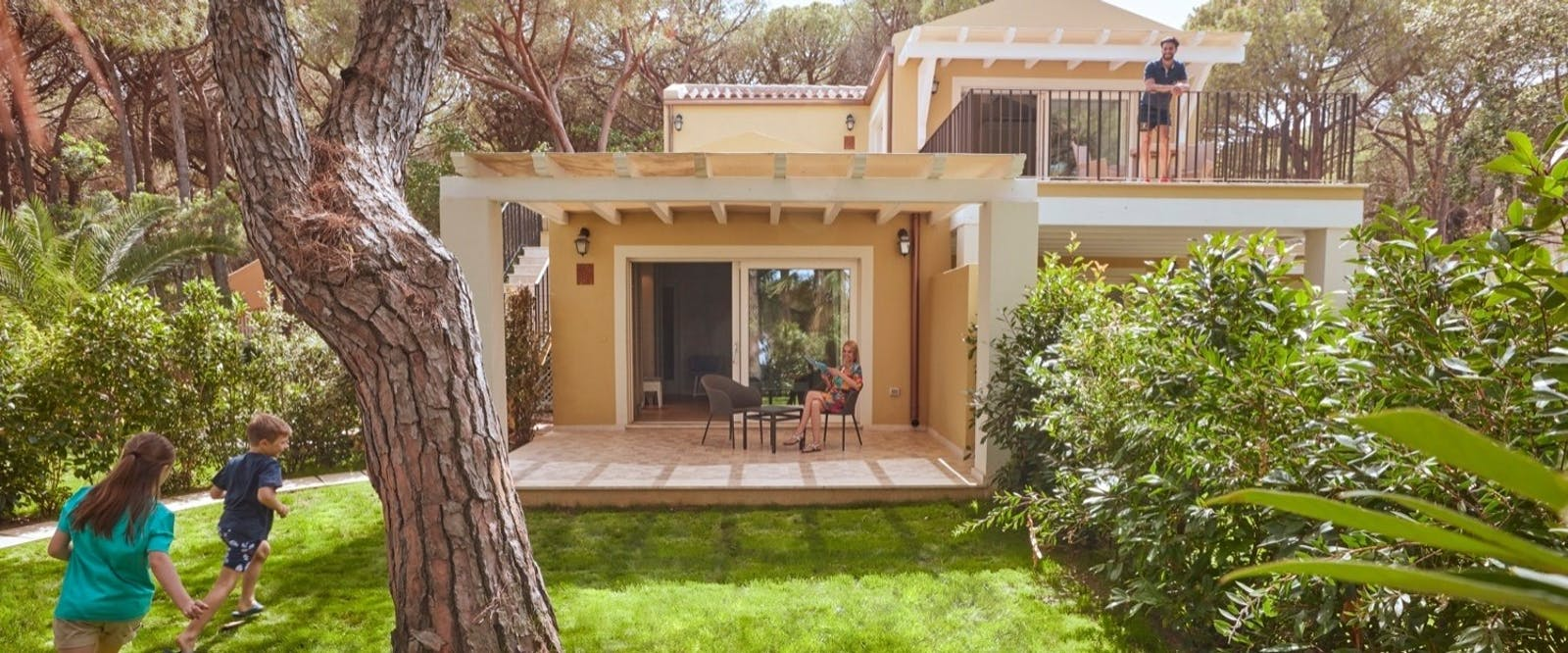 Accommodation Exterior at Forte Village Le Palme, South Sardinia, Italy