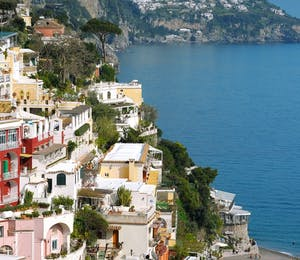 Beautiful view of Le Sirenuse, Amalfi Coast