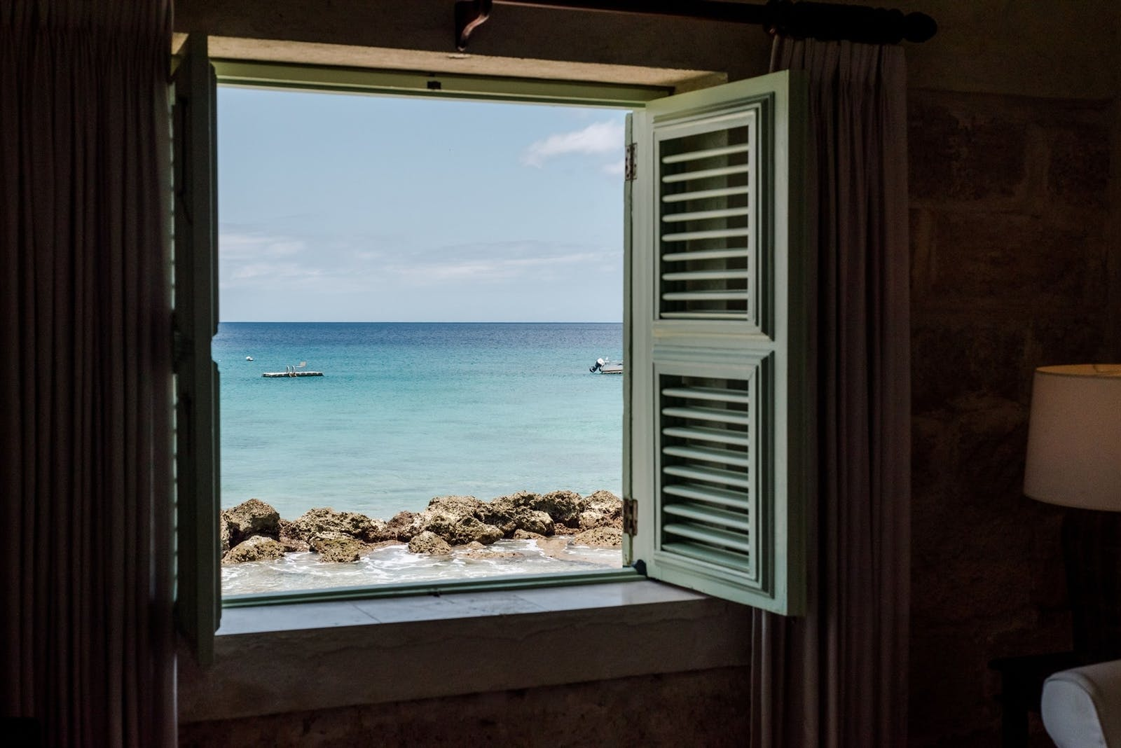 Room View at Little Good Harbour, Barbados