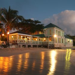 Exterior of Little Good Harbour, Barbados