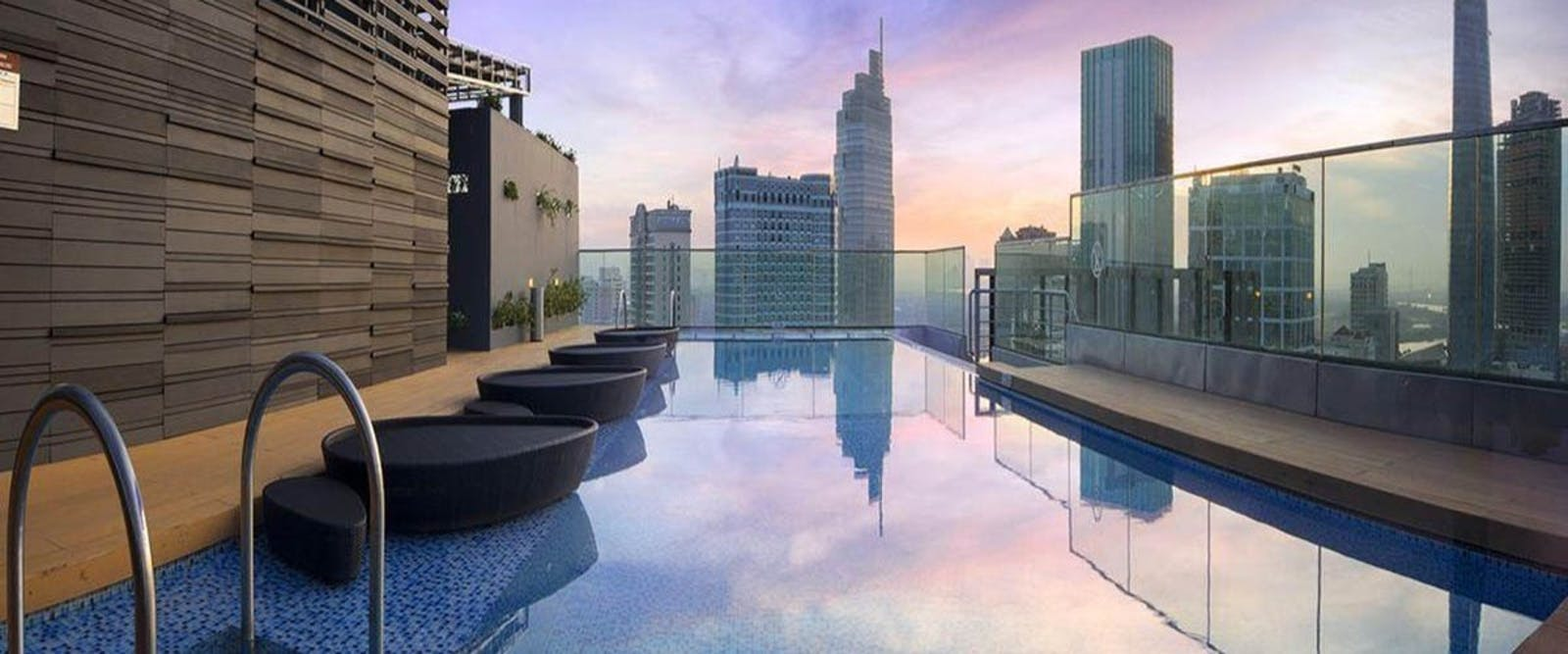 Rooftop Pool at Liberty Central Saigon Citypoint Hotel, Vietnam