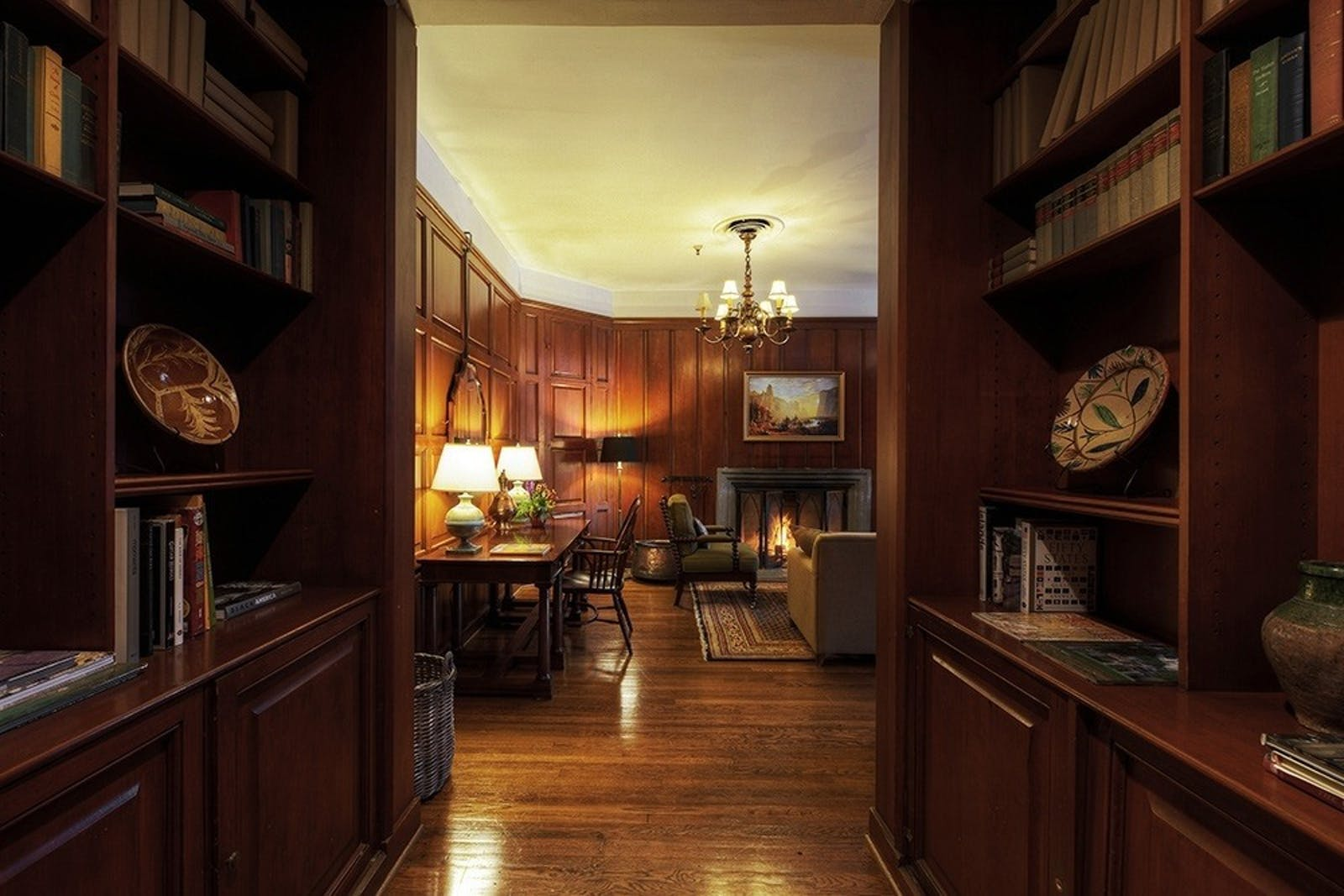 Library Suite at Majestic Yosemite Hotel, California