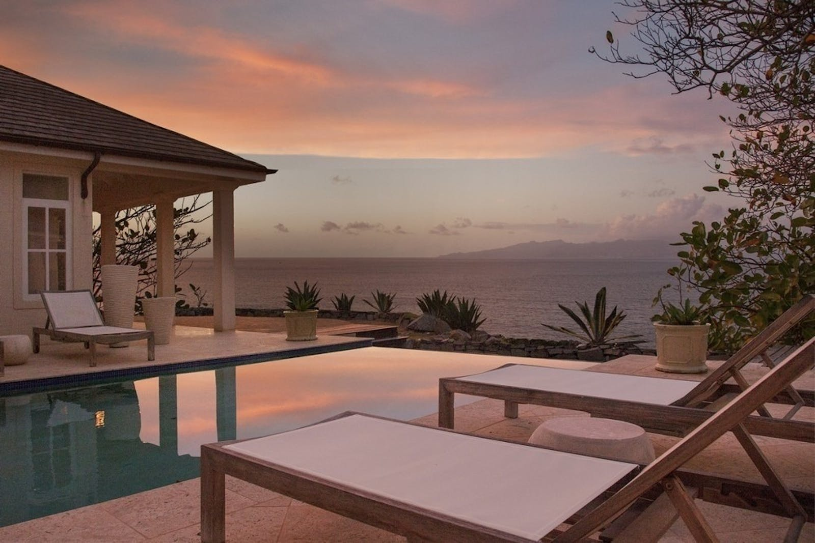 Villa Pool at The Liming, St Vincent & The Grenadines, Caribbean