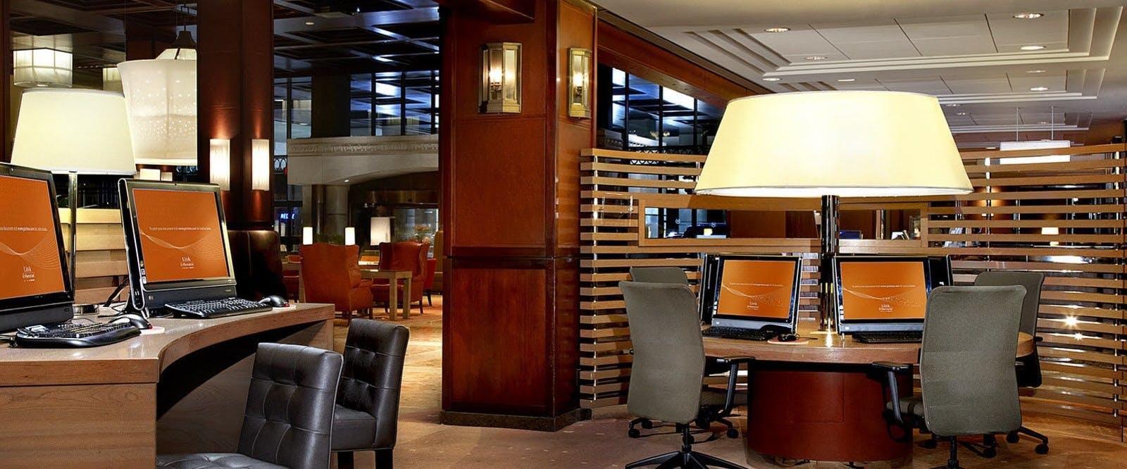 Link Internet Area At Sheraton Centre Toronto Hotel