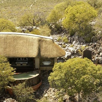 Exterior of Little Ongava Lodge