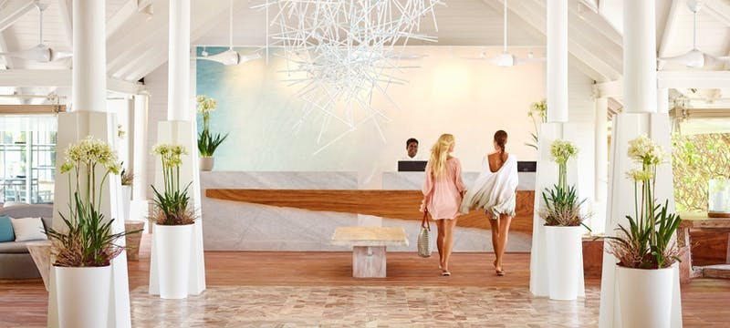 Lobby at LUX* South Ari Atoll, Maldives