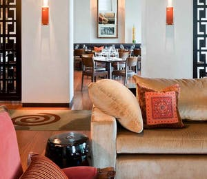 Lobby lounge at Hotel Lindrum – McGallery by Sofitel