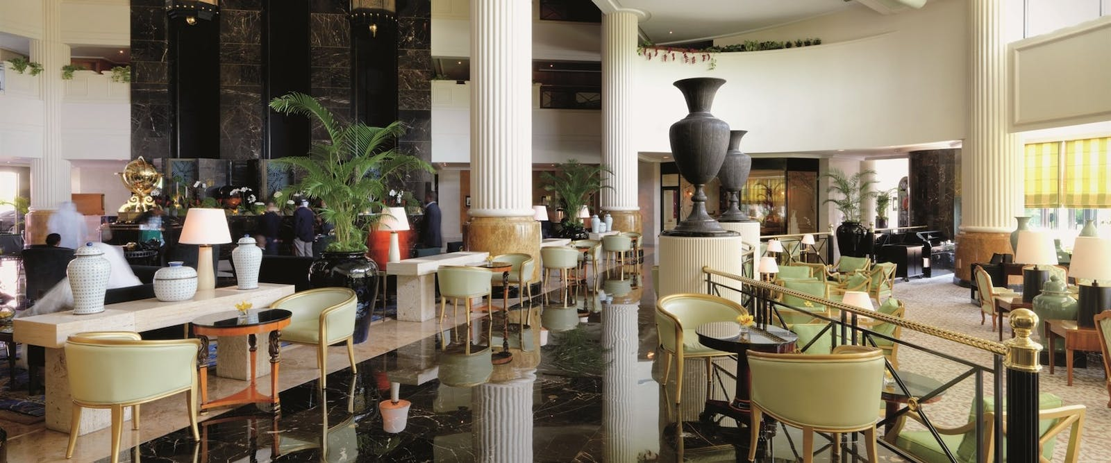 Lobby Lounge at The Ritz Carlton Bahrain Hotel Villas and Spa