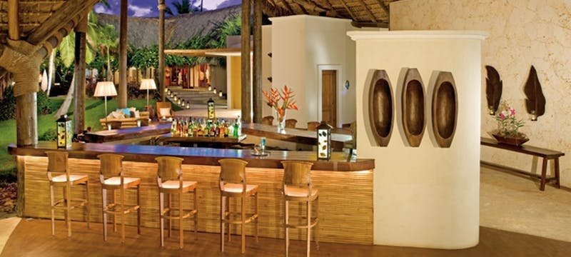 Lobby bar at Zoetry Agua Punta Cana, Dominican Republic