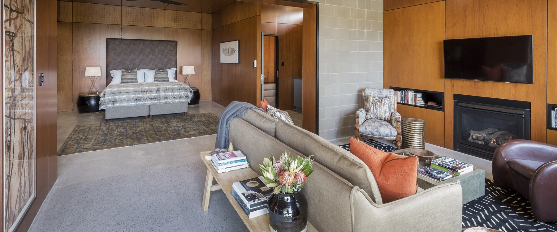 Lodge suite at Spicers Sangoma Retreat