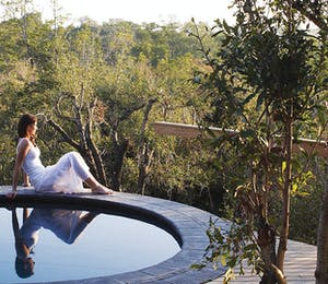 Pool at Londolozi Private Game Reserve