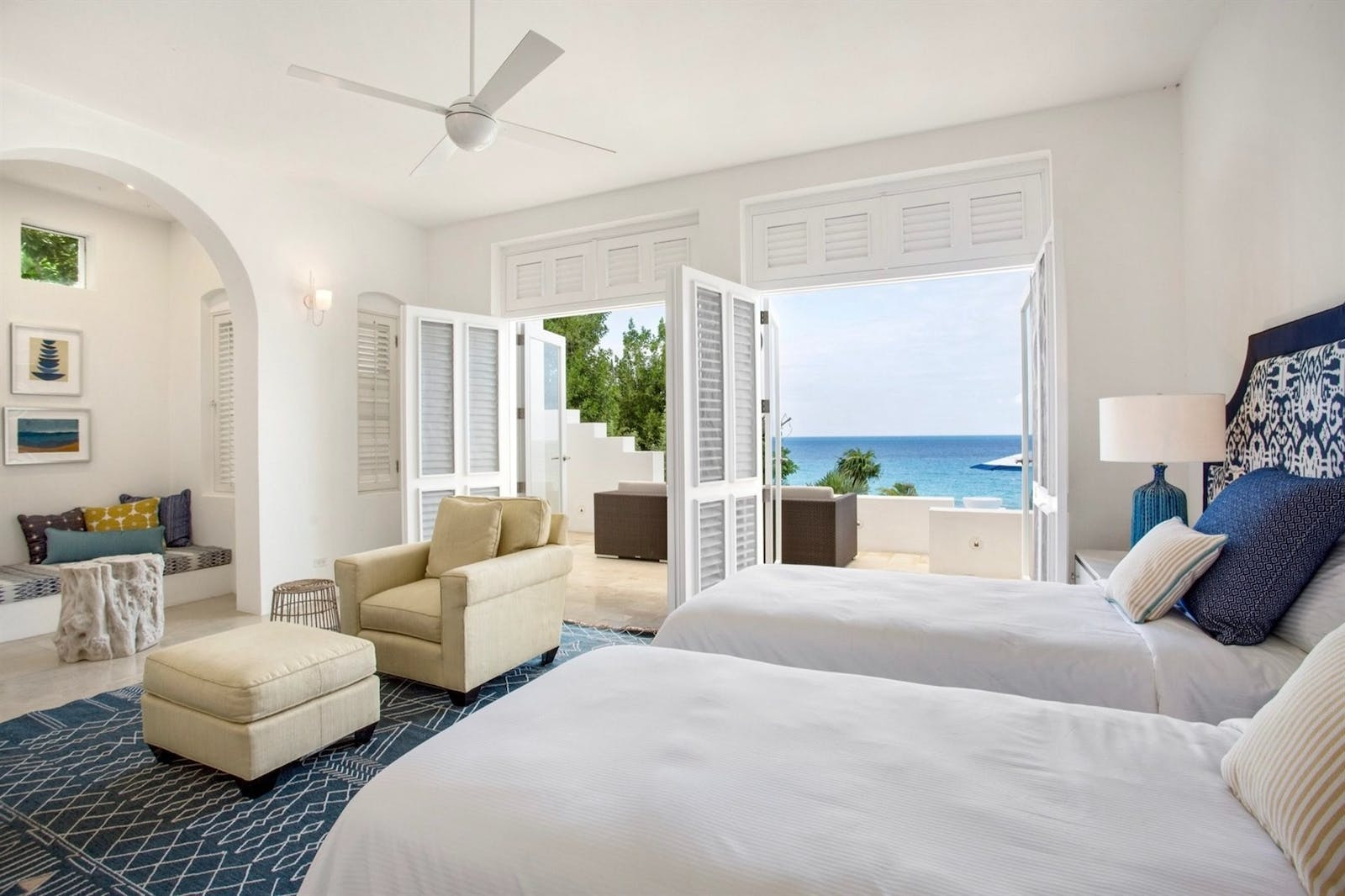 bedroom at sand villa long bay villas anguilla