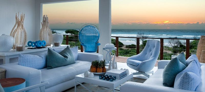Lounge area at White Pearl Resort