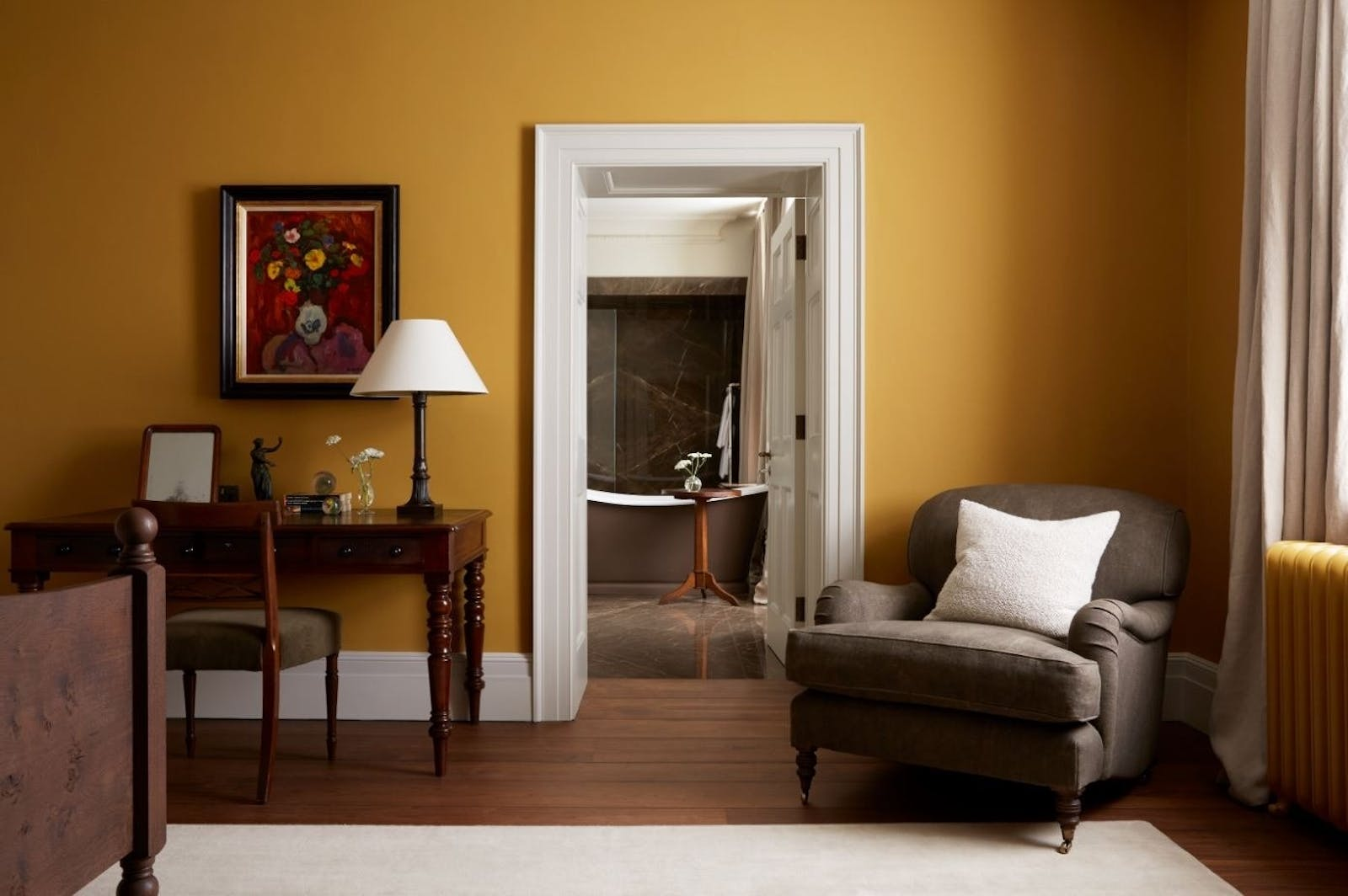 Signature Room Ochre at Heckfield Place, Hampshire