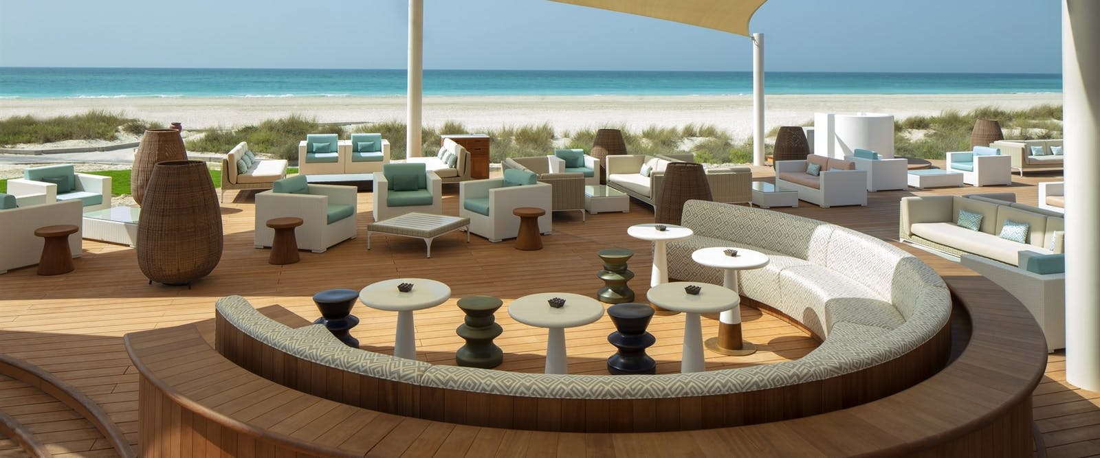 Lower Deck during the day at The St. Regis Saadiyat Island Resort