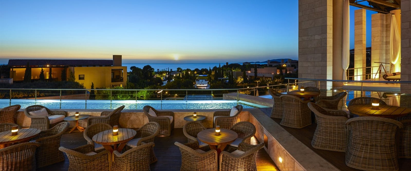 Anax Lounge at The Romanos, a Luxury Collection Resort, Peloponnese, Greece