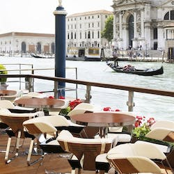 Exterior of Gritti Palace, Venice, Italy