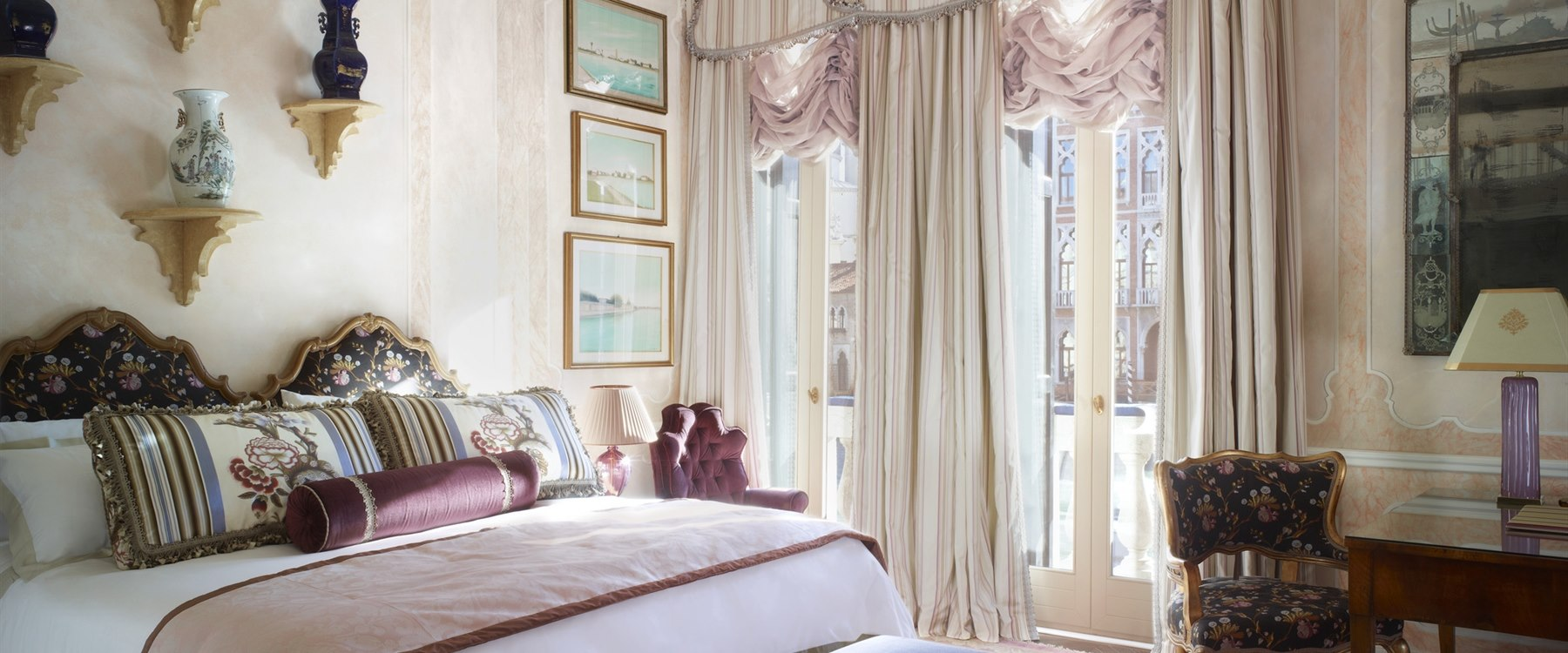 the somerset maugham royal suite at Gritti Palace, Venice