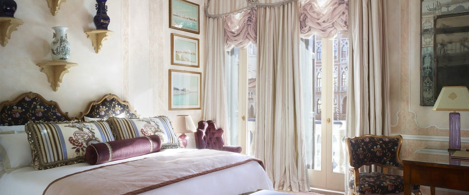 The Somerset Maugham Royal Suite at Gritti Palace, Venice, Italy