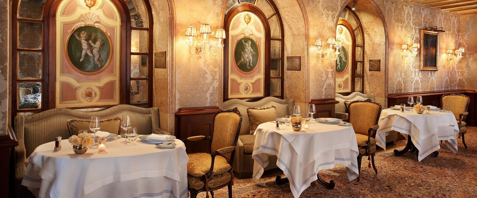 Club Del Doge Restaurant at Gritti Palace, Venice, Italy