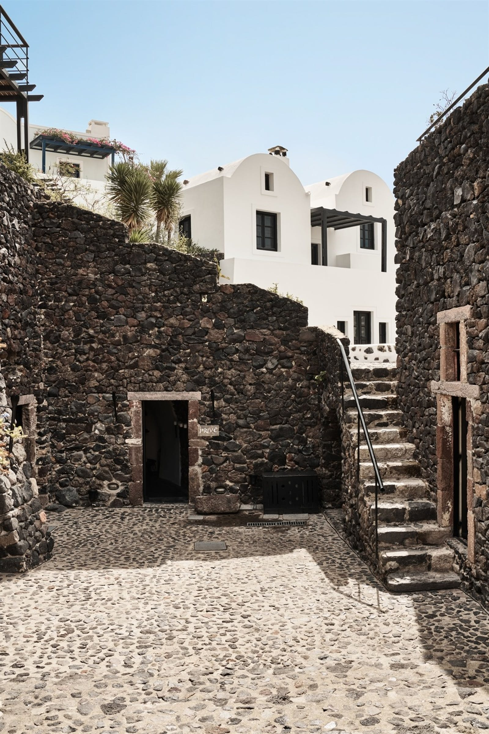 Historic Exterior of Vedema, a Luxury Collection Resort, Santorini, Greece