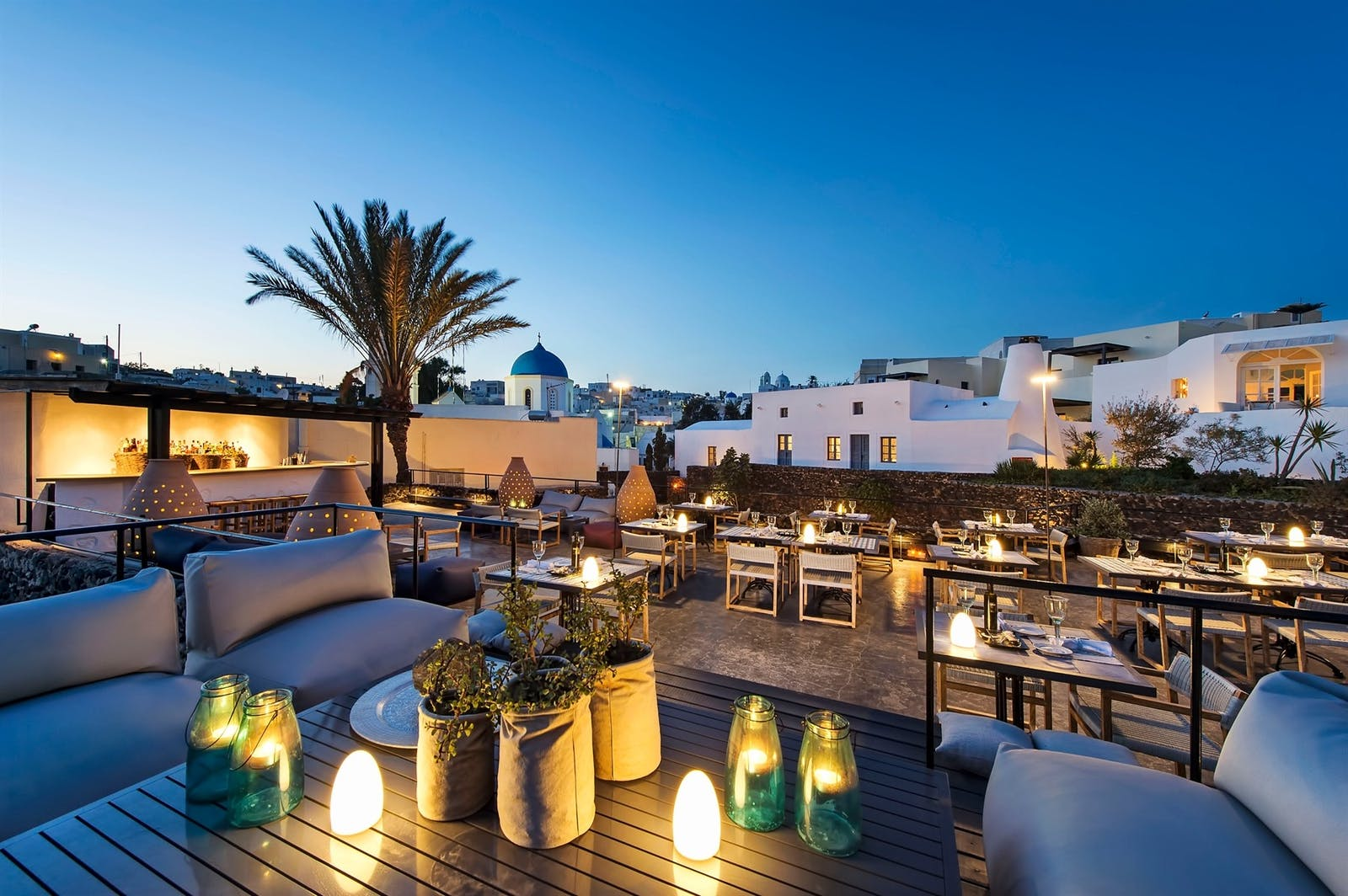 Atali Restaurant at Vedema, a Luxury Collection Resort, Santorini, Greece