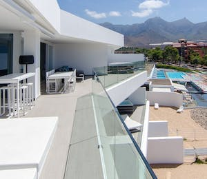 Luxury allegra terrace at Baobab Suites, Tenerife