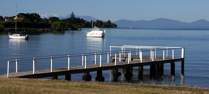 Lake view at Millennium Hotel & Resort Manuels Taupo