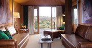 Luxury Tented Suite lounge at Mahali Mzuri, Kenya