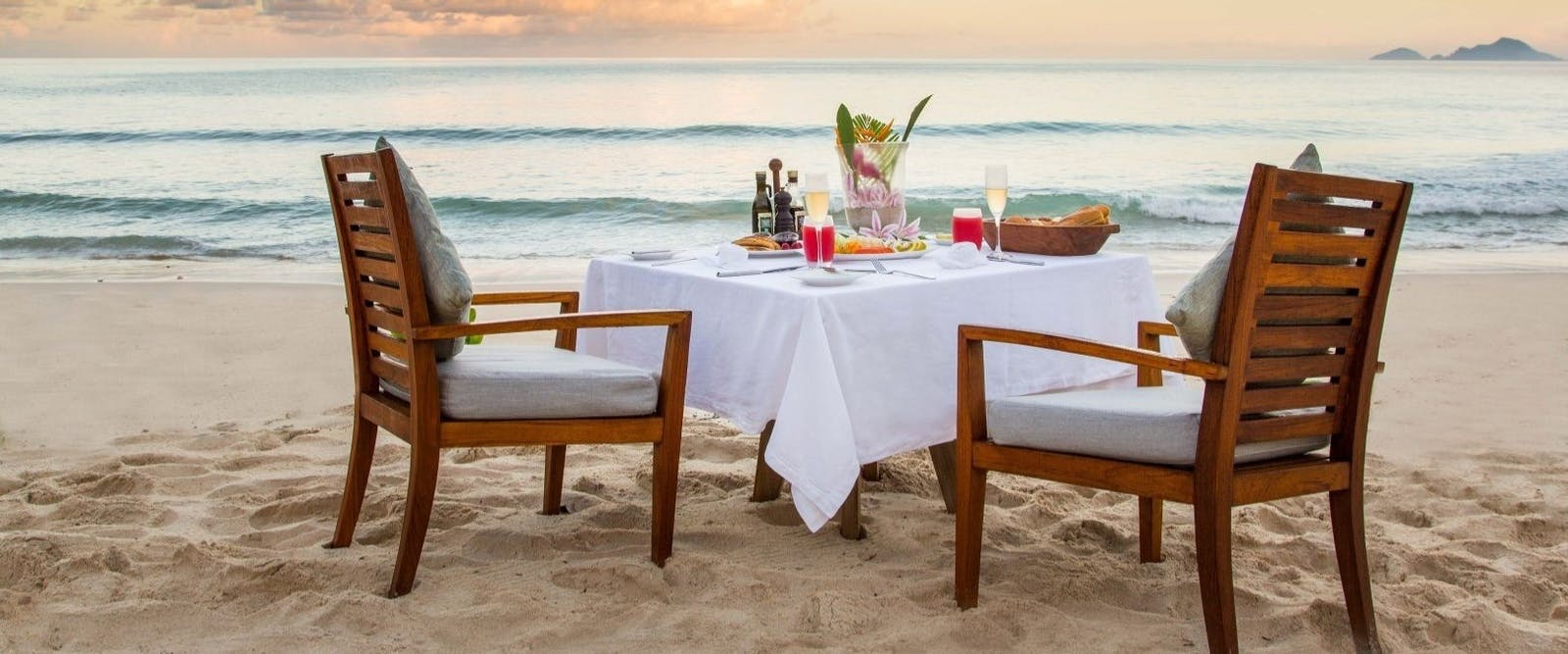 Romantic Dinner at Maia Luxury Resort & Spa, Seychelles