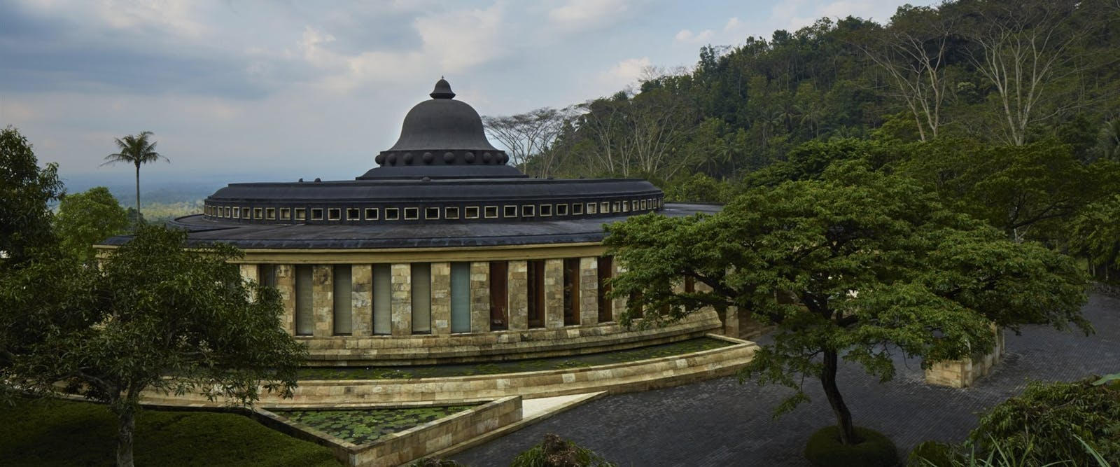 Main Building Rotunda at Amanjiwo, Bali