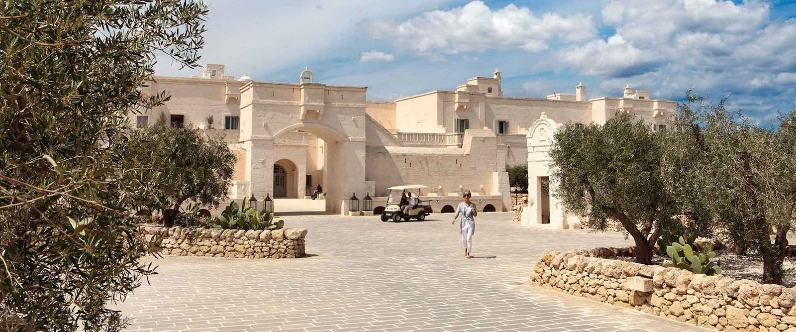 Main Entrance at Borgo Egnazia, Pulgia, Italy